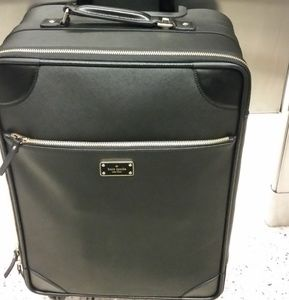 Beautiful saffiano leather KSNY carry-on suitcase